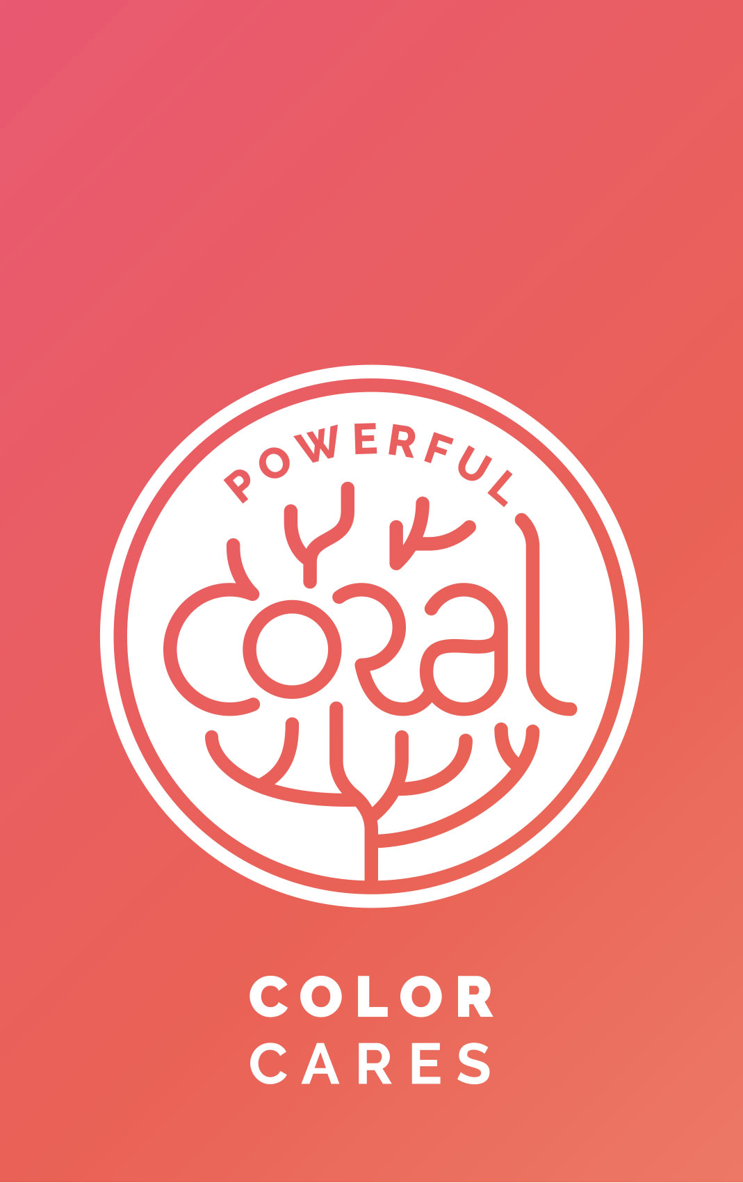 Powerful-Coral-Logo-Label