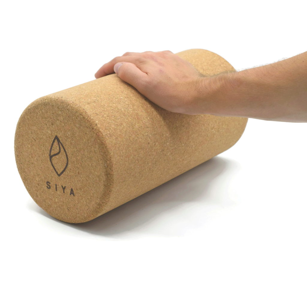 SIYA Yoga Faszienrolle aus hartem Kork für Selbstmassage und gegen VerspannungenSIYA Yoga Faszienrolle aus hartem Kork für Selbstmassage und gegen Verspannungen
