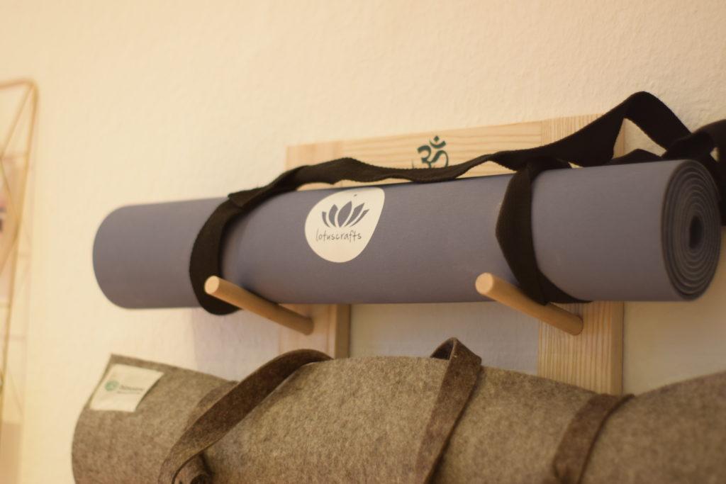 Yogamatten aus Naturkautschuk & Wollfilz