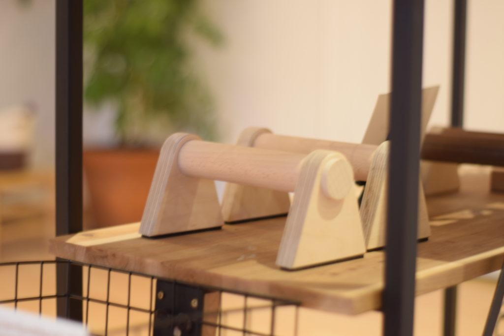 SIYA Handstandgriffe aus nachhaltigem Holz