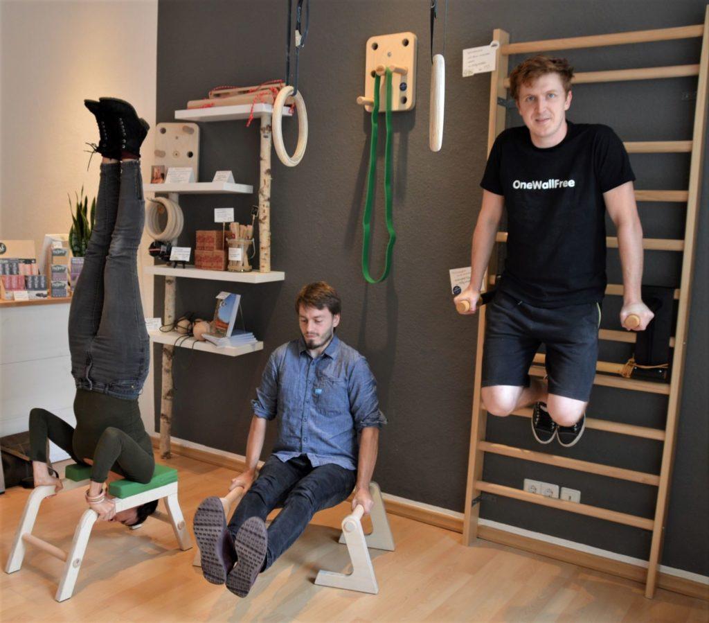 Nachhaltiges Fitness & Yoga Eqipment