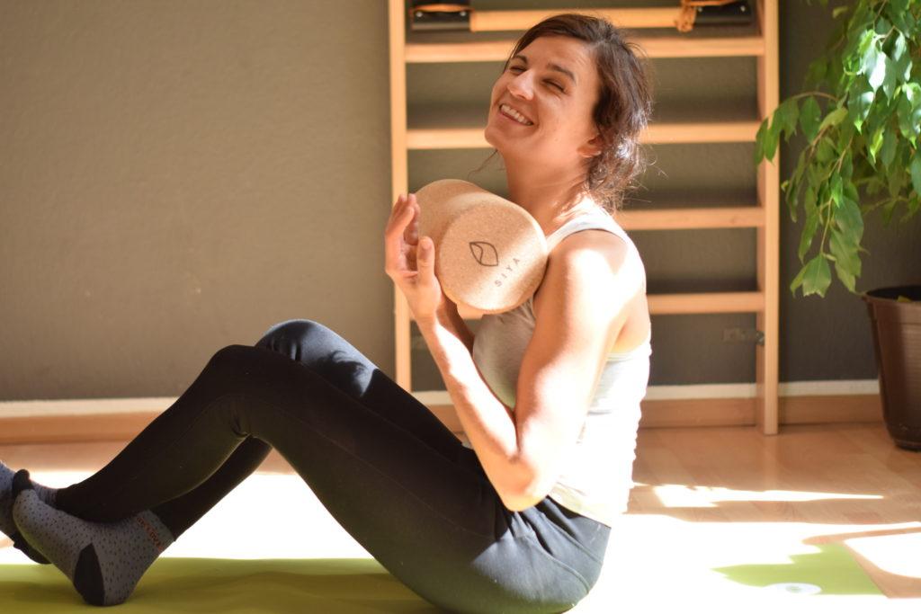 SIYA Yoga Faszienrolle aus Kork - Wohltuende Selbstmassage und Linderung von Schmerzen