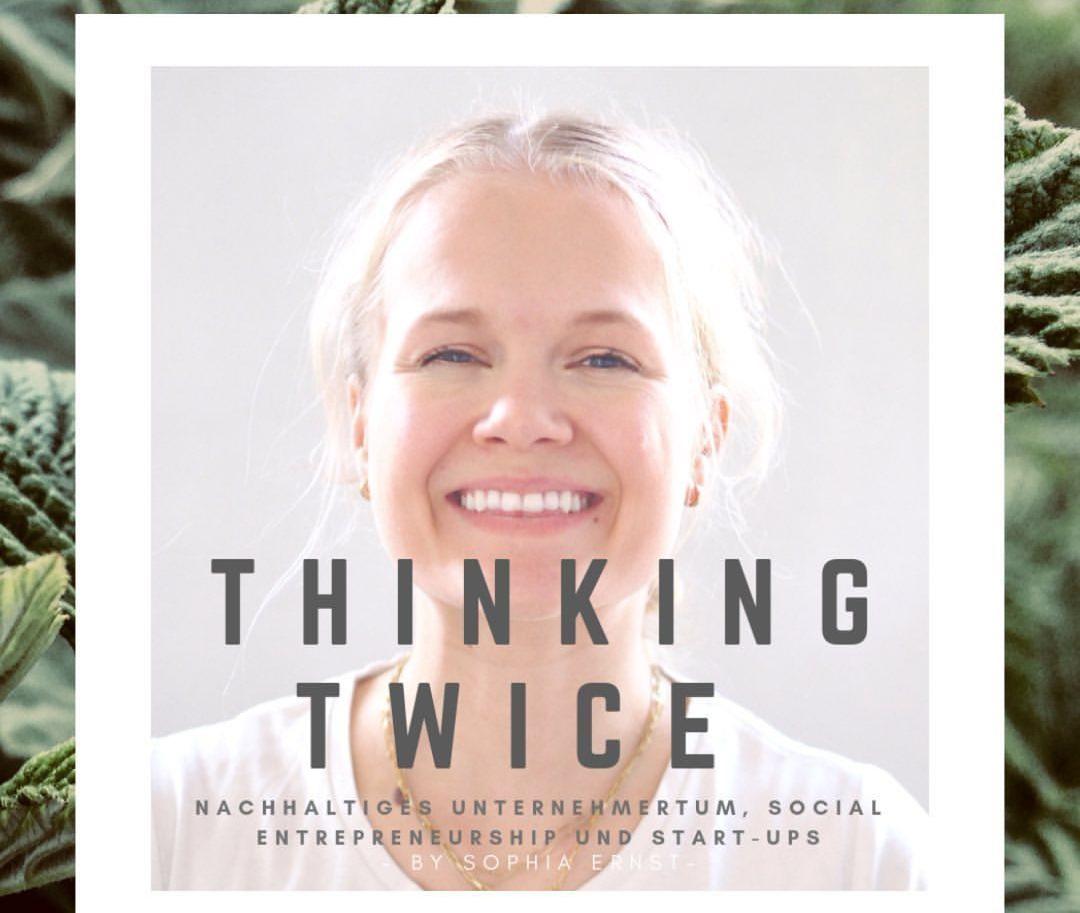 Thinking Twice Podcast über Nachhaltige Unternehmen EDELKRAFT